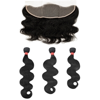 "MURI SELECT - 3 Bundle + 13""x4"" Lace Frontal (Ear to Ear) Closure - Body Wave"