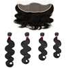 MURI SELECT - 4 Bundles + 13x4 Lace Frontal Closure - Body Wave