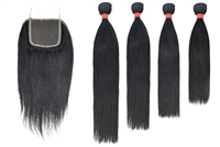 MURI SELECT - 4 Bundles + 4x4 Lace Closure - Straight