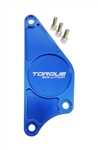Torque Solution Billet Aluminum Cam Plate (Blue): Subaru BRZ / Scion FR-S 2013+