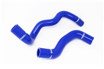 Torque Solution Silicone Radiator Hose Kit (Blue): Ford Focus RS 2016+