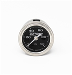Torque Solution Fuel Pressure Gauge: 100 PSI 1/8 NPT