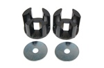 Torque Solution Engine Mount Inserts: Chrysler PT Cruiser 2000+