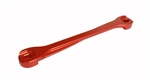 Torque Solution Billet Battery Tie Down ( Red ): Subaru