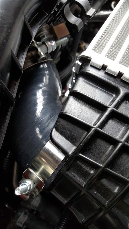 Silicone Throttle Body Hose Subaru WRX 2008+ Legacy GT 05-09