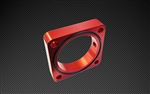 Torque Solution Throttle Body Spacer (Red): Subaru BRZ / Scion FR-S 2013+