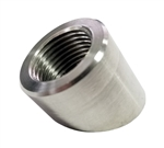 Torque Solution O2 Sensor Bung: 60 Degree Angled Stainless Steel