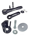 Torque Solution Pendulum Mount (Dog Bone) w/ Street Insert: Volkswagen 2006-2008.5