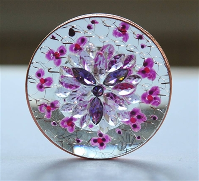 Saint Germain Violet Flame Disc