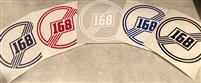 168 Colored Decals (Pack of 3)