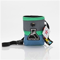 Friction Labs Chalk Bag - Includes Reusable Magic Chalk Ball