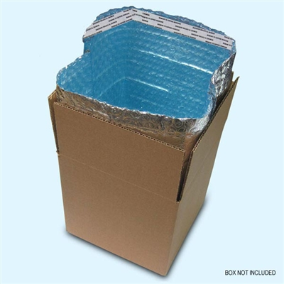"Foil Insulated Box Liners 10"" x 10"" x 10"""