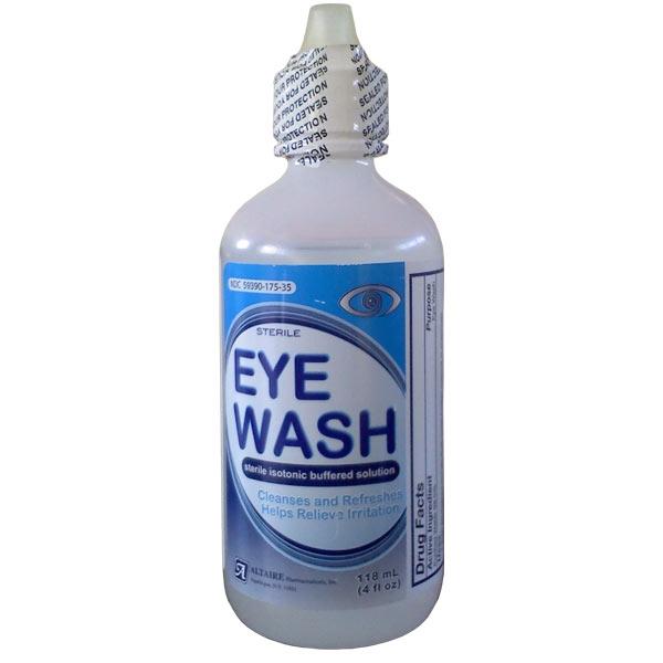 Sterile Eye Wash Solution, 4 oz - Nortech Labs, Inc.