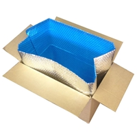 "Foil Insulated Box Liners - 6"" x 6"" x 6"""