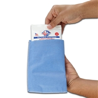 "Blue Easy Sleeves Disposable Covers, 9"" x 12"""