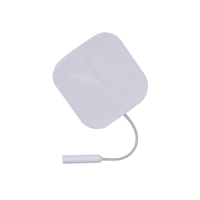 "Square White Foam Electrodes, 2"" x 2"" - 4 Pack"