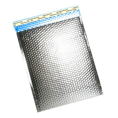 "Foil Metallic Thermal Bubble Mailers, 12"" x 17"""
