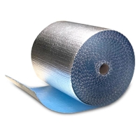 "Cool Blue Foil Bubble Roll, 16"" x 125"""