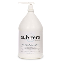 Sub Zero Pain Relieving Gel, 1 Gallon Bottle with Pump
