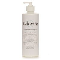 Sub Zero Pain Relieving Gel with Cat's Claw 16 oz