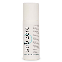 Sub Zero Pain Relieving Gel, 3 oz. Roll On