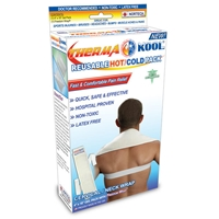 "Therma-Kool Hot Cold Pack with Freedom Wrap 4"" x 18"" Cervical"