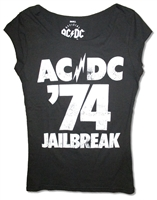 AC/DC '74 Jail Break Junior Baby Doll
