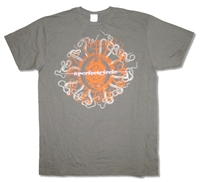 A Perfect Circle Orange Octopus Tee