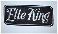 Elle King Name Logo Rectangle Patch