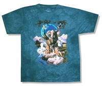 The Mountain Gathering Tie Dye Youth Tee