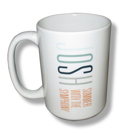 Josh Groban Summer With The Symphony Ceramic Coffee Mug