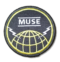 Muse Globe Embroidered Patch