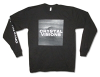 The Big Pink Crystal Visions 30/1 Long Sleeve Tee