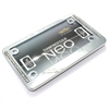 Diamond Bling Chrome Motorcycle License Plate Frame