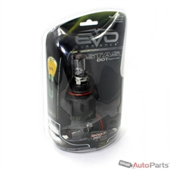(2) Vistas White 9007 Car-Truck Headlight Headlamp Bulbs 4500K DOT Approved
