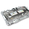 Fleur de lis Metal Chrome License Plate Tag Frame for Auto-Car-Truck