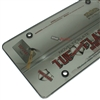 Smoke Tinted License Plate Tag Frame Cover Shield Protector for Auto-Car-Truck