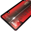 Plain Slim Thin Black Metal License Plate Tag Frame for Auto-Car-Truck