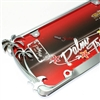Chrome Palm Tree Tropical Metal License Plate Tag Frame for Auto-Car-Truck