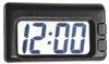Black Big Digit Clock for Car-Truck-Bike-Scooter Interior Dash