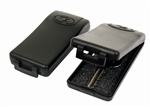 Black Magnetic Key Holders Hide a Key Case Box - 2 Pack