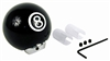 Universal Pool 8 Black Ball Shift Knob for Car-Truck-Hotrod Shifter Gear