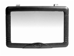 Interior Mirror for Auto-Car-Truck Clips to Sun Visor or Stick on dash, etc.