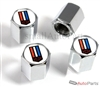 Chevrolet Camaro Logo Chrome ABS Tire Valve Stem Caps