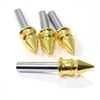 4 Universal Gold Spike Interior Door Lock Knobs Pins for Car-Truck-HotRod