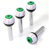4 Universal Green EyeBall Interior Door Lock Knobs Pins for Car-Truck-HotRod