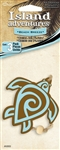 3 Blue Turtle Sea Beach Breeze Hanging Tree Style Air Fresheners for Car-Truck