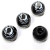 4 Pow Mia Ball Wheel Tire Pressure Air Stem Valve Caps for Auto-Car-Truck