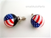 American Flag License Plate Frame Fasteners Bolts