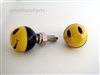 Smiley Face License Plate Frame Fasteners Bolts